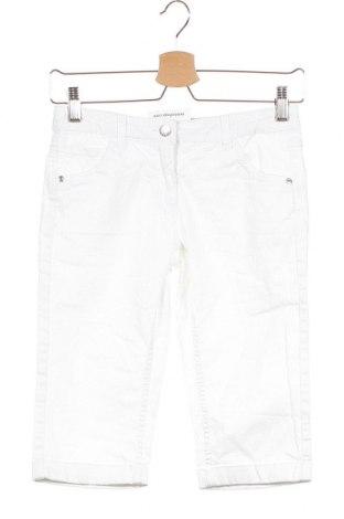 Παιδικό κοντό παντελόνι Alive, Μέγεθος 10-11y/ 146-152 εκ., Χρώμα Λευκό, 98% βαμβάκι, 2% ελαστάνη, Τιμή 8,18€