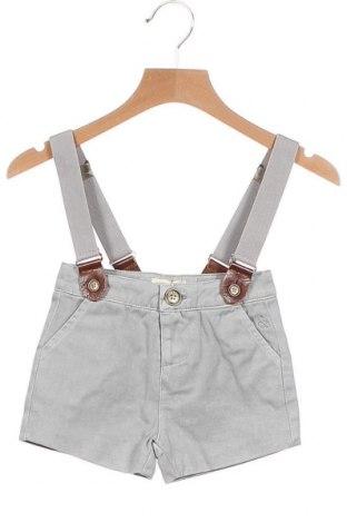 Παιδικό κοντό παντελόνι Neck & Neck, Μέγεθος 6-9m/ 68-74 εκ., Χρώμα Γκρί, Τιμή 14,44€
