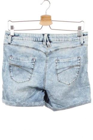 Παιδικό κοντό παντελόνι S.Oliver, Μέγεθος 14-15y/ 168-170 εκ., Χρώμα Μπλέ, 66% βαμβάκι, 29% πολυεστέρας, 3% βισκόζη, 2% ελαστάνη, Τιμή 20,10€