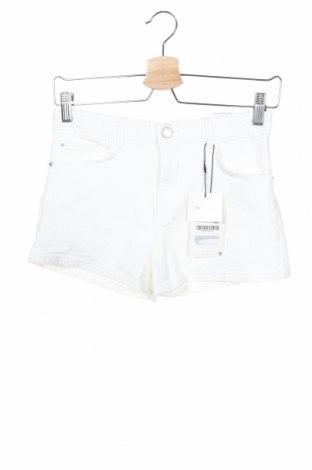 Παιδικό κοντό παντελόνι Zara Kids, Μέγεθος 13-14y/ 164-168 εκ., Χρώμα Λευκό, 98% βαμβάκι, 2% ελαστάνη, Τιμή 16,46€
