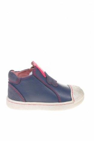 Παιδικά παπούτσια Agatha Ruiz De La Prada, Μέγεθος 20, Χρώμα Μπλέ, Γνήσιο δέρμα, Τιμή 30,90€