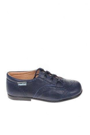 Παιδικά παπούτσια Angelitos, Μέγεθος 26, Χρώμα Μπλέ, Γνήσιο δέρμα, Τιμή 14,29€