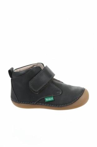 Детски обувки Kickers, Размер 23, Цвят Зелен, Естествена кожа, Цена 66,75лв.
