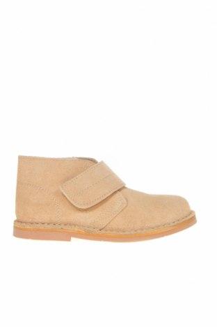 Детски обувки Lola Palacios, Размер 27, Цвят Бежов, Естествен велур, Цена 39,27лв.