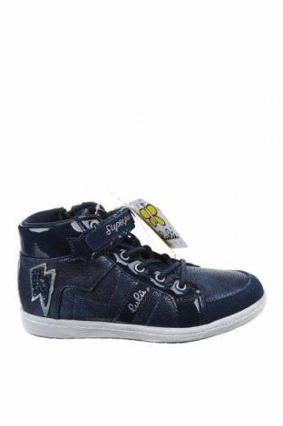 Детски обувки Lulu, Размер 34, Цвят Син, Естествена кожа, еко кожа, Цена 53,40лв.