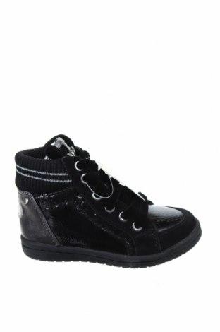 Детски обувки Lulu, Размер 25, Цвят Черен, Текстил, естествена кожа, еко кожа, Цена 38,27лв.