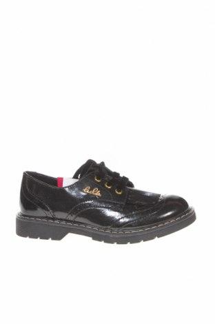 Детски обувки Lulu, Размер 33, Цвят Черен, Еко кожа, Цена 43,07лв.