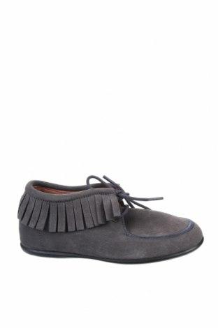 Детски обувки Neck & Neck, Размер 30, Цвят Сив, Естествен велур, Цена 28,34лв.