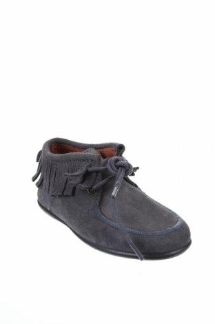 Детски обувки Neck & Neck, Размер 28, Цвят Сив, Естествен велур, Цена 28,34лв.