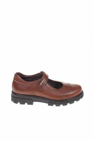 Παιδικά παπούτσια Pablosky, Μέγεθος 33, Χρώμα Καφέ, Γνήσιο δέρμα, Τιμή 26,41€