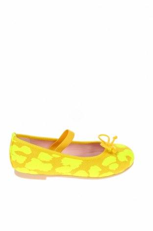 Детски обувки Pretty Ballerinas, Размер 26, Цвят Жълт, Текстил, Цена 29,67лв.