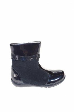 Детски обувки Primigi, Размер 24, Цвят Син, Естествен велур, еко кожа, Цена 61,92лв.
