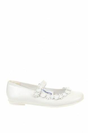 Детски обувки Primigi, Размер 37, Цвят Бял, Естествена кожа, Цена 25,28лв.