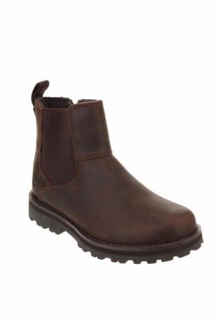 Детски обувки Timberland, Размер 32, Цвят Кафяв, Естествена кожа, Цена 56,70лв.