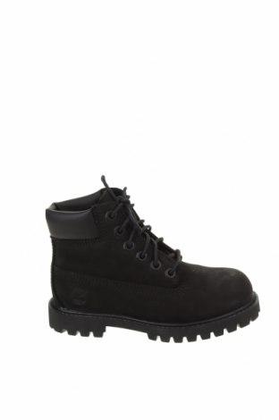 Детски обувки Timberland, Размер 28, Цвят Черен, Естествена кожа, Цена 149,25лв.