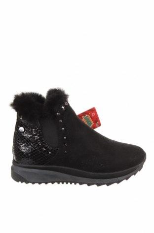 Детски обувки Xti, Размер 33, Цвят Черен, Текстил, еко кожа, Цена 59,25лв.