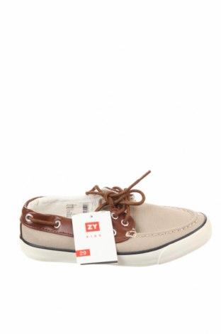 Детски обувки ZY kids, Размер 29, Цвят Бежов, Текстил, еко кожа, Цена 22,42лв.