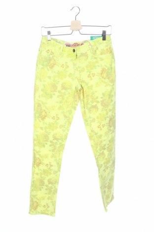 Παιδικό παντελόνι Million X, Μέγεθος 15-18y/ 170-176 εκ., Χρώμα Κίτρινο, 98% βαμβάκι, 2% ελαστάνη, Τιμή 12,16€
