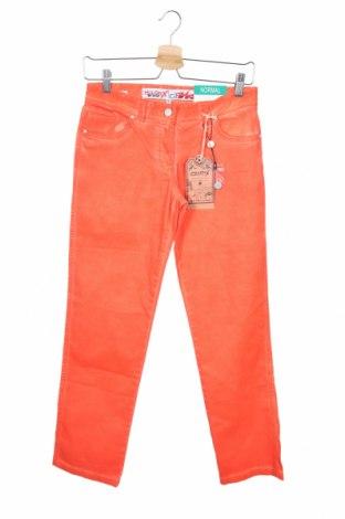 Παιδικό παντελόνι Million X, Μέγεθος 12-13y/ 158-164 εκ., Χρώμα Πορτοκαλί, 98% βαμβάκι, 2% ελαστάνη, Τιμή 10,10€