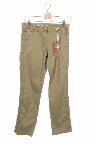 Παιδικό παντελόνι Million X, Μέγεθος 13-14y/ 164-168 εκ., Χρώμα Πράσινο, 98% βαμβάκι, 2% ελαστάνη, Τιμή 3,53€