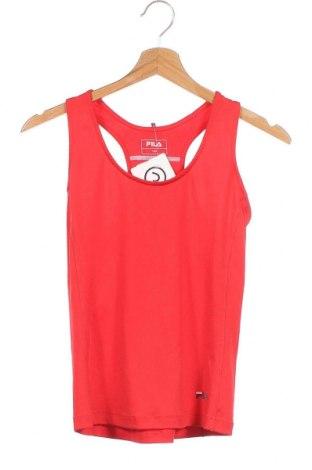 Μπλουζάκι αμάνικο παιδικό Fila, Μέγεθος 10-11y/ 146-152 εκ., Χρώμα Κόκκινο, 92% πολυεστέρας, 8% ελαστάνη, Τιμή 7,27€