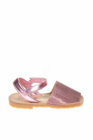 Детски сандали Avarca Menorquina, Размер 28, Цвят Розов, Естествена кожа, Цена 41,40лв.