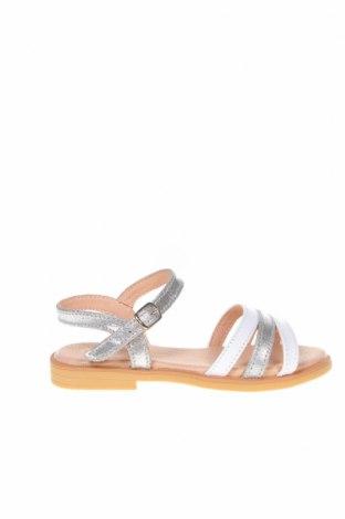Детски сандали Lola Palacios, Размер 27, Цвят Сив, Еко кожа, текстил, Цена 46,80лв.