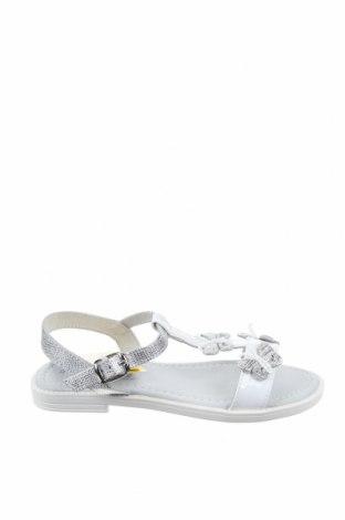 Детски сандали Lulu, Размер 32, Цвят Бял, Естествена кожа, еко кожа, Цена 31,27лв.