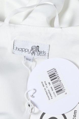 Παιδικό  μπολερό Happy Girls By Eisend, Μέγεθος 8-9y/ 134-140 εκ., Χρώμα Λευκό, Πολυεστέρας, Τιμή 11,66€