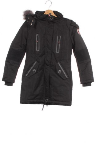 Детско яке Canadian Peak, Размер 10-11y/ 146-152 см, Цвят Черен, Полиестер, Цена 179,00лв.