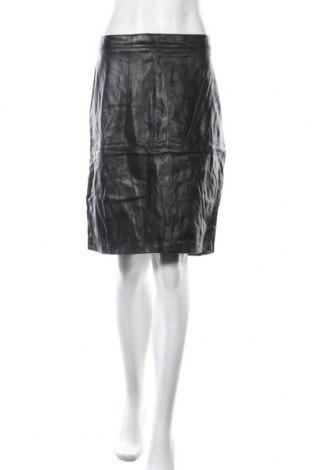 Кожена пола Peter Morrissey, Размер XL, Цвят Черен, Еко кожа, Цена 6,31лв.