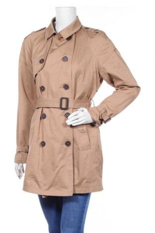 Дамски шлифер Bershka, Размер XL, Цвят Кафяв, Памук, Цена 33,00лв.