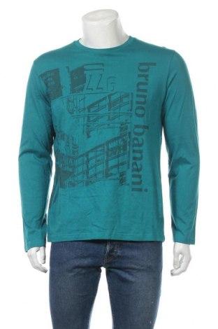 Мъжка блуза Bruno Banani, Размер L, Цвят Зелен, Памук, Цена 15,17лв.