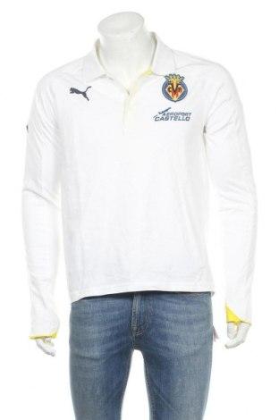 Ανδρική μπλούζα PUMA, Μέγεθος M, Χρώμα Λευκό, Βαμβάκι, Τιμή 10,21€