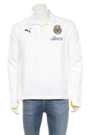 Ανδρική μπλούζα PUMA, Μέγεθος L, Χρώμα Λευκό, Βαμβάκι, Τιμή 12,36€