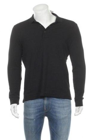 Мъжка блуза Piazza Italia, Размер L, Цвят Черен, Цена 16,80лв.
