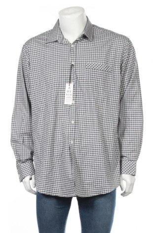 Мъжка риза Nicole Miller, Размер XXL, Цвят Сив, 60% памук, 40% полиестер, Цена 71,82лв.