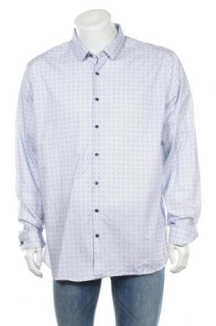 Мъжка риза Angelo Litrico, Размер XXL, Цвят Син, Памук, Цена 4,99лв.