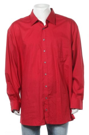 Мъжка риза Bexleys, Размер 4XL, Цвят Червен, Памук, Цена 18,90лв.