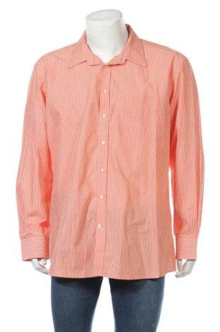 Мъжка риза Biaggini, Размер XXL, Цвят Оранжев, Памук, Цена 18,90лв.