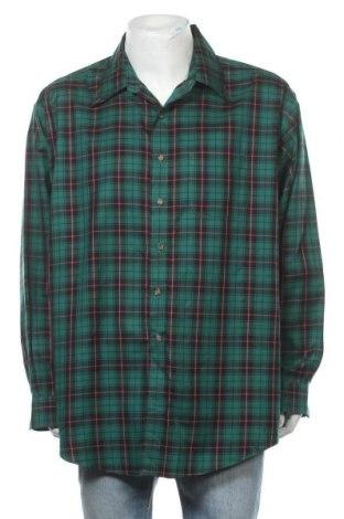 Мъжка риза Brooks Brothers, Размер XXL, Цвят Зелен, Памук, Цена 23,52лв.