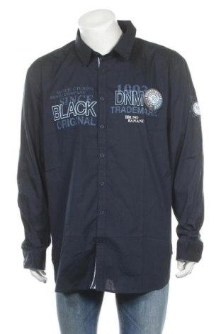 Мъжка риза Bruno Banani, Размер XXL, Цвят Син, Памук, Цена 18,00лв.