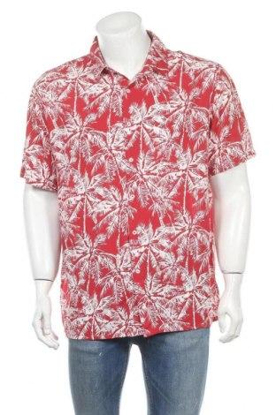 Мъжка риза Burton of London, Размер XL, Цвят Червен, Вискоза, Цена 17,96лв.