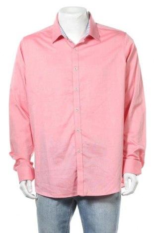 Мъжка риза Daniel Hechter, Размер XXL, Цвят Розов, Цена 44,89лв.