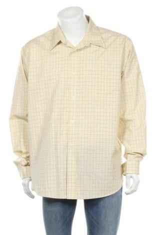 Мъжка риза Eddie Bauer, Размер XL, Цвят Жълт, Памук, Цена 19,95лв.