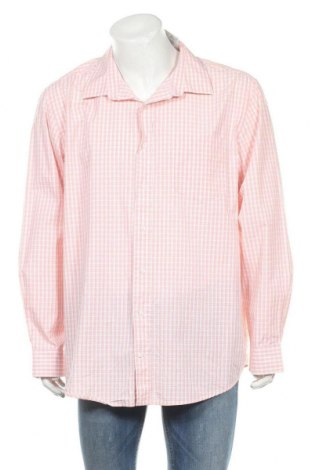 Мъжка риза George, Размер XXL, Цвят Розов, Памук, Цена 15,12лв.