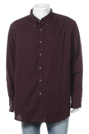 Мъжка риза George, Размер XXL, Цвят Червен, 55% памук, 45% полиестер, Цена 18,90лв.