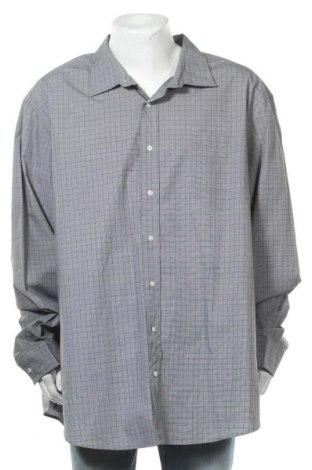 Мъжка риза George, Размер 5XL, Цвят Сив, Памук, Цена 20,95лв.