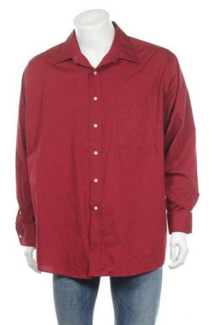 Мъжка риза George, Размер XL, Цвят Червен, 60% памук, 40% полиестер, Цена 18,90лв.