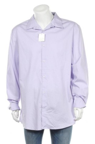 Мъжка риза George, Размер XXL, Цвят Лилав, 97% памук, 3% еластан, Цена 29,40лв.